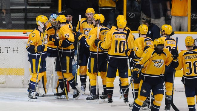 The Predators have used 37 players this season, most in the NHL and five more than they did last season.