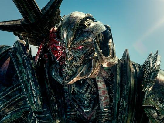 Megatron returns in 'Transformers: The Last Knight.'