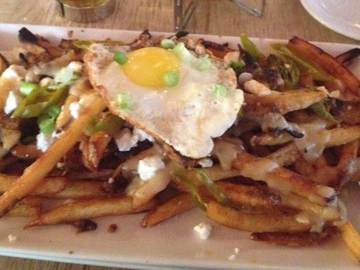 Breakfast poutine at Kaze in Over-the-Rhine.