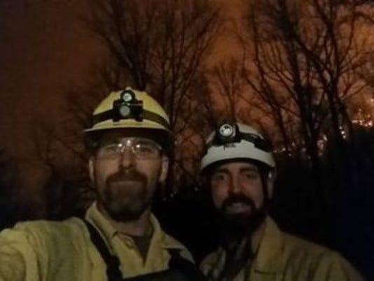 Park rangers Gatlinburg wildfire