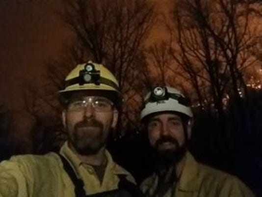 Park rangers Gatlinburg wildfire