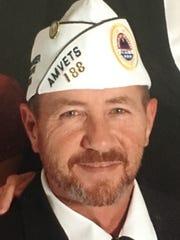 Army veteran Doug Johnson, commander at AMVETS Post
