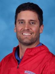 Fairport football coach Marc Vitticore