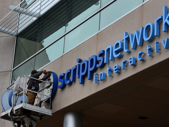 The formal takeover of Knoxville-based Scripps Networks