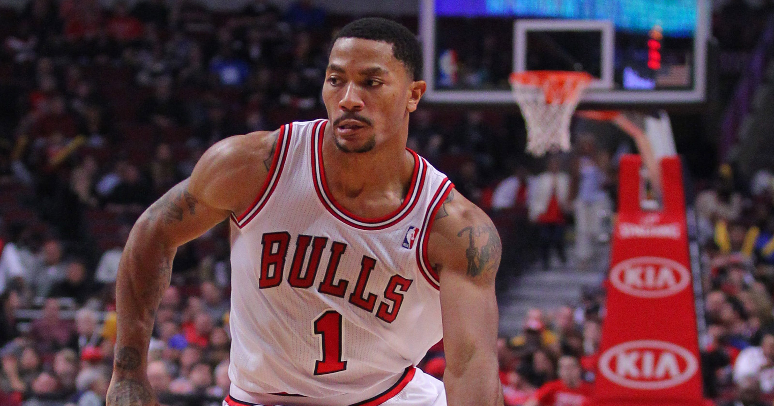 fd97ac96cba2 Bulls  Derrick Rose finally returns to United Center