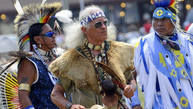 The Monacan Indian Nation's annual powwow in Albert Farm, Virginia, in this file photo.