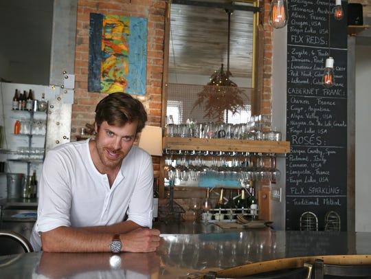 James-Emery Elkin, owner operator of Microclimate Wine