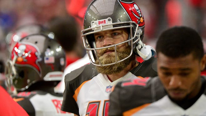 Ryan Fitzpatrick could be starting Sunday in Buffalo for Tampa Bay.