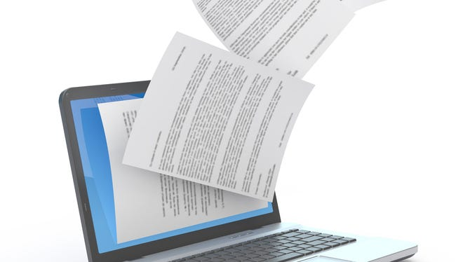 The ability to scan a physical document, such as a printed letter, and convert that file into text you can access and edit electronically is called Optimate Character Recognition, or OCR.