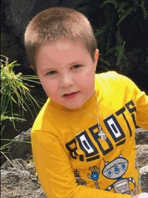 Aramazd Andressian Jr., 5, was reported missing on April 22.
