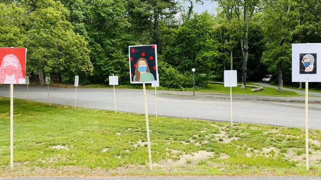 The Art Complex Museum in Duxbury is providing a dose of socially distant culture with a new drive-by exhibition.