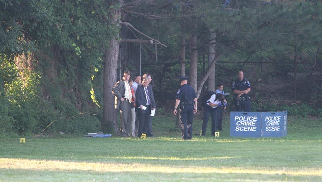 Rochester police investigate a body found Friday morning.