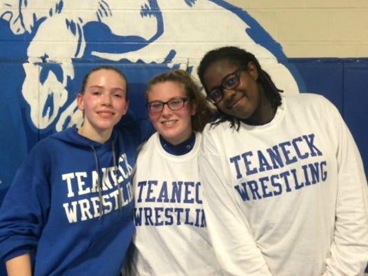Teaneck girl wrestlers