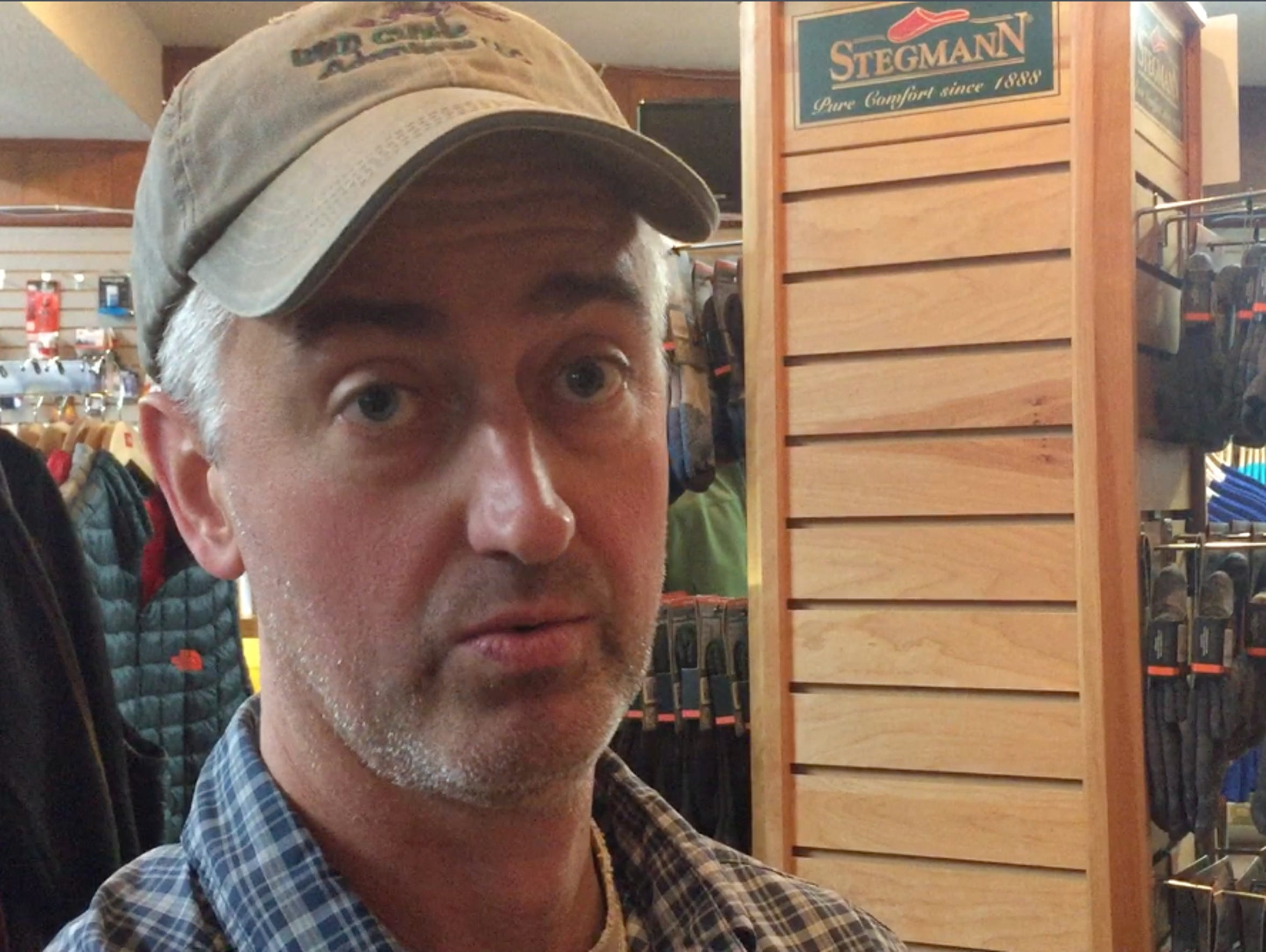 Rich Gibson is the manager and buyer at Rockfish Gap