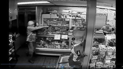 Surveillance photograph from the La Chapina market at 3110 Dickerson Pike on Dec. 4.