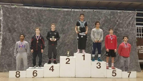 Zeke Escalera takes the champion position at prep finals.
