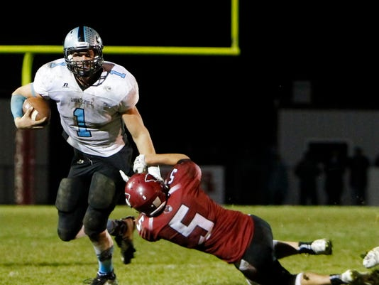 Lansing Catholic vs. Portland - Div. 5 Playoffs