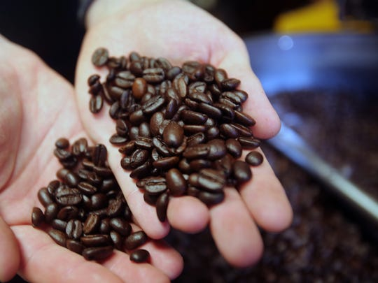 Roasted coffee beans. Caffeine gave us the Enlightenment and helped us achieve prosperity.