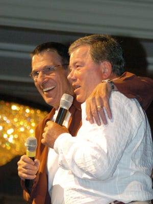 William Shatner tweeted that he will have to miss Leonard Nimoy's funeral Sunday due to a conflicting event.