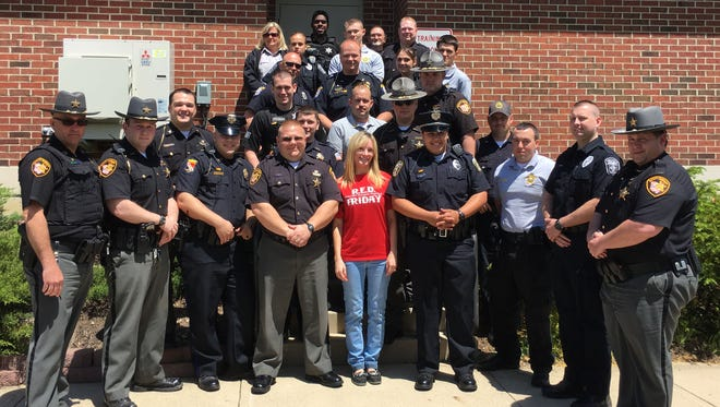 Graduates of the 2016 Crisis Intervention Team. The 40-hour long training concluded on May 6.