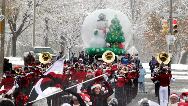 The Milwaukee Holiday Parade will be downtown on Nov. 18, ending at the Shops of Grand Avenue.