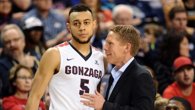 Gonzaga's game at Portland has been postponed.