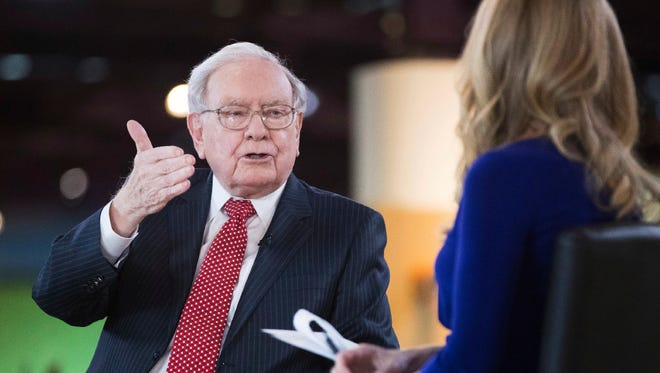 "Investor Warren Buffett shares highlights about his annual letter to shareholders with CNBC ""Squawk Box"" host Becky Quick."
