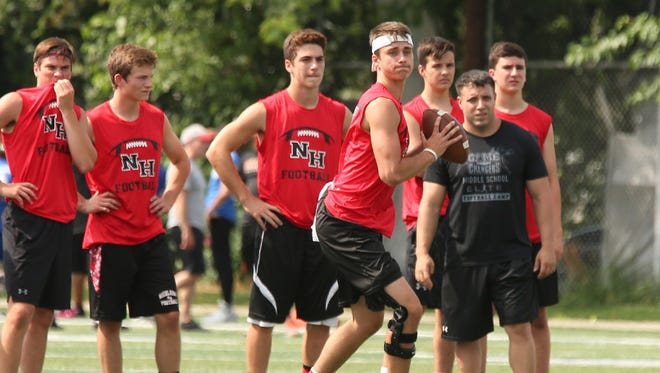 Northern Highlands quarterback Charlie Ratner and the Highlanders check in at No. 13 in NorthJersey.com's preseason top 20 football rankings.