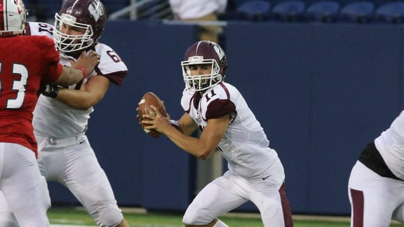 Wayne Hills' Jaaron Hayek accounted for nearly 400 yards of offense and five touchdowns against Pascack Valley.