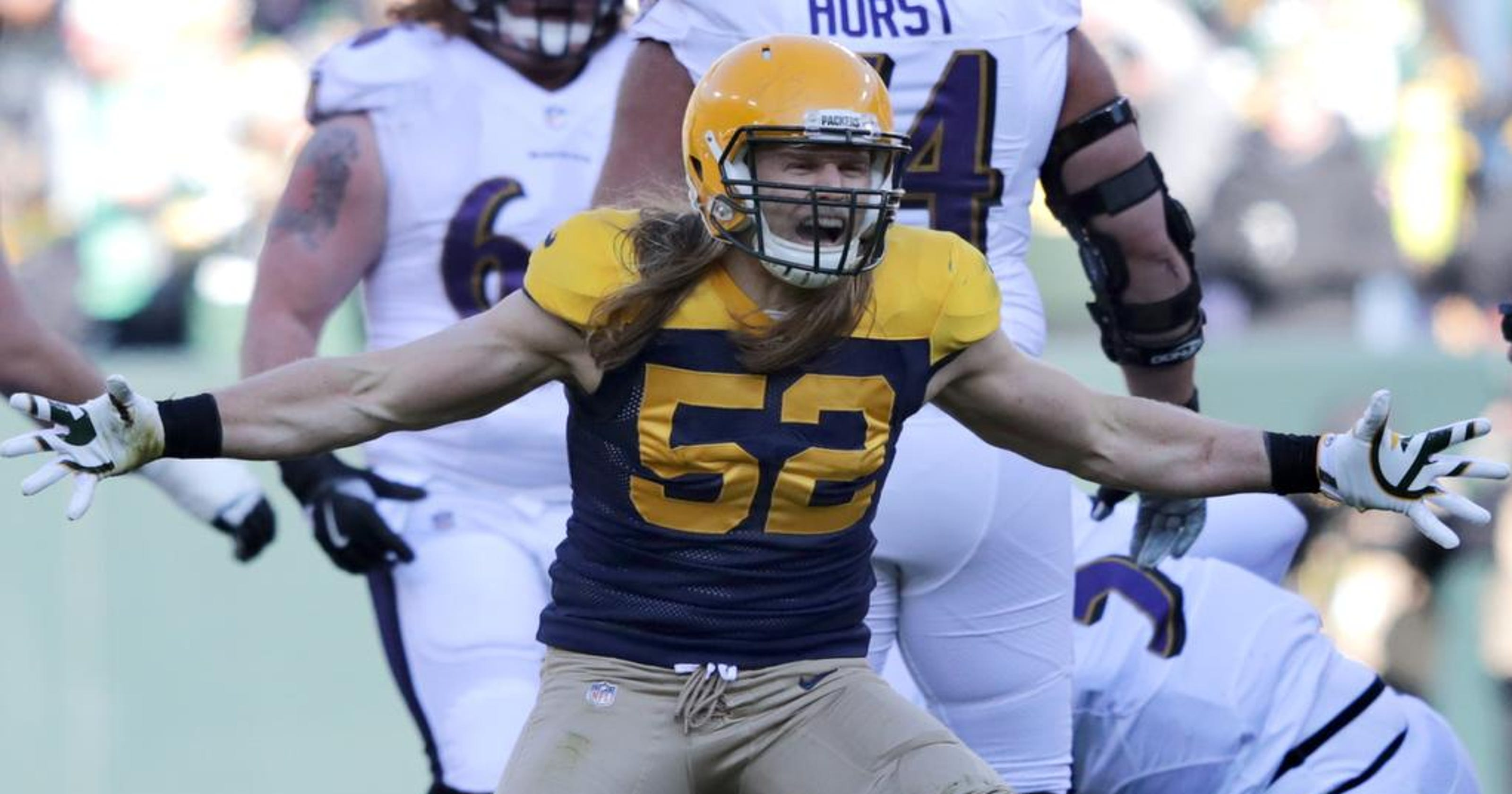 9a4e7f32c72 Packers LB Clay Matthews expects to be game-time decision with groin injury