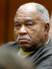 In this 2013 file photo, Samuel Little appears at Superior Court in Los Angeles.