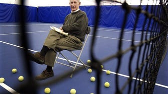 Tommy Buford in a 2004 photograph. Before his retirement, he had been tournament director of the Kroger St. Jude and Cellular South Cup Tennis Championships since 1978. (A.J. Wolfe/The Commercial Appeal files)