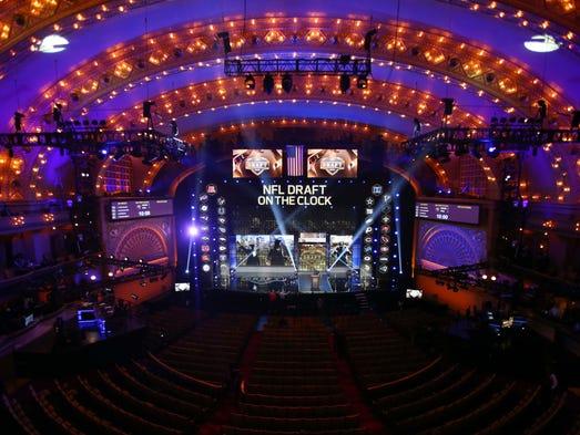 The NFL draft begins Thursday, April 28. The Cardinals