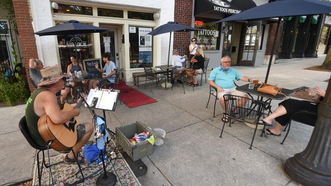 The Copper Penny on Chestnut St. is setting up a 'parklet' in front of the restaurant through the Downtown Alive program. These spaces officially open at 5:30 p.m. Thursday, Sept. 10.