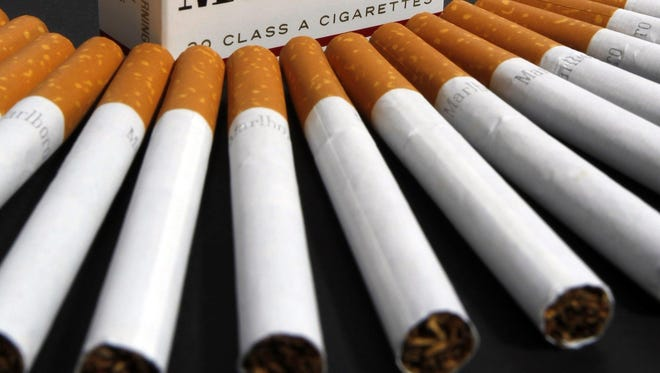 Smoking may soon be banned in Lafayette bars and clubs.