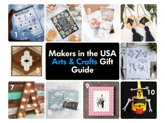 Support American artists by gifting these one-of-a-kind