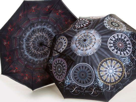 Custom umbrellas Wendy created for the 2018 Southwest