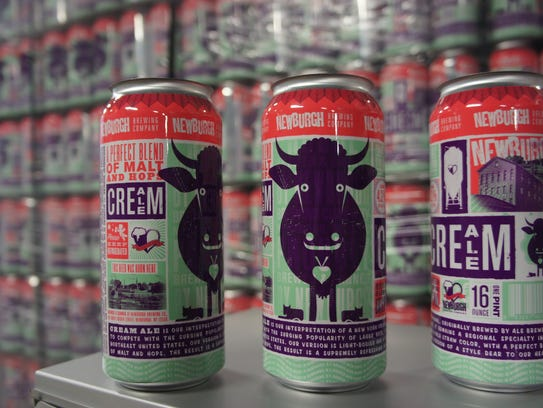Newburgh Brewing Company's Cream Ale has the best beer