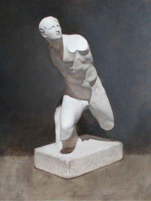 Borghese Warrior by Danny Grant part of the Modern Atelier: Methods of Today's Training exhibit at Alliance for the Arts
