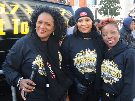 The Turkey Day Classic Parade is held in downtown Montgomery,