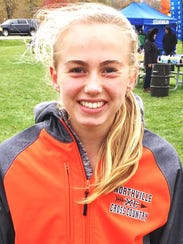 Northville's Ana Barrott repeated as regional champion.