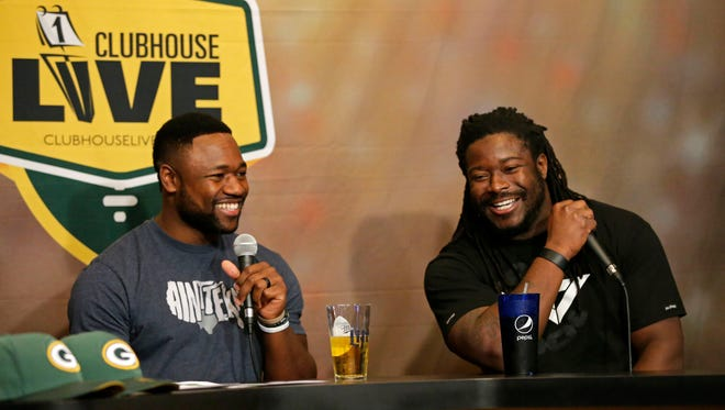 Green Bay Packers wide receiver Ty Montgomery co-hosted Monday's Clubhouse Live in Appleton. Running back Eddie Lacy was the guest. Watch a replay of the show at clubhouselive.com.