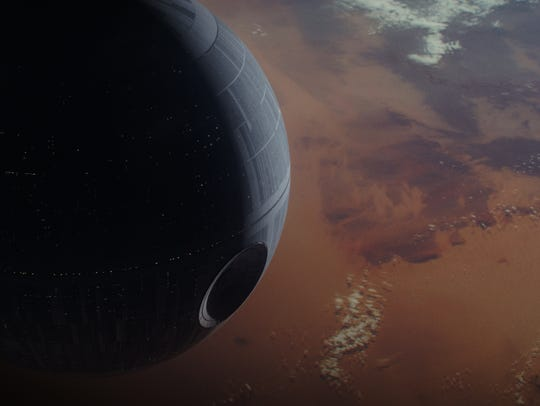 The Death Star has the power to take out entire planets