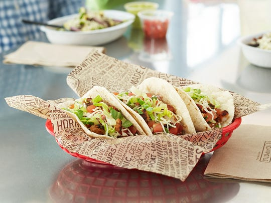 The soft flour tacos from Chipotle.
