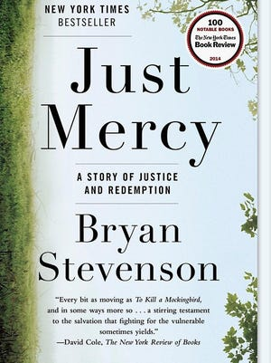"The cover of Bryan Stevenson's ""Just Mercy,"" the 2015 One Book, One Community selection for East Lansing."