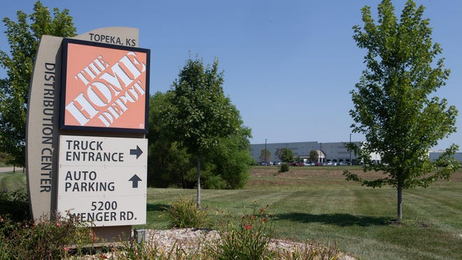 Home Depot is looking to hire 100 people for part-time and full-time positions at its Topeka distribution center, 5200 S.W. Wenger Road.