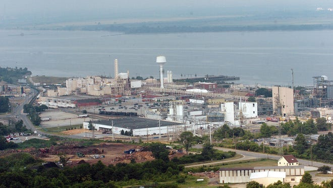 The Chemours Co's former Edge Moor titanium dioxide manufacturing facility is a target for the Port of Wilmington for future expansion on the Delaware River north of Wilmington.