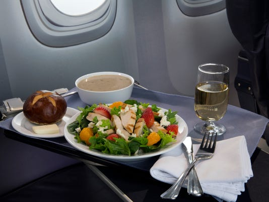 Airlines-First Class Meals