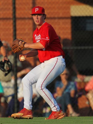 Palmetto senior Shaw Crocker was named the Region II-AAA player of the year in baseball.