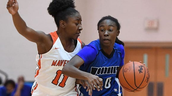 JaRae Smith, right, and the Woodmont Wildcats are No. 2 in the latest SCBCA rankings.